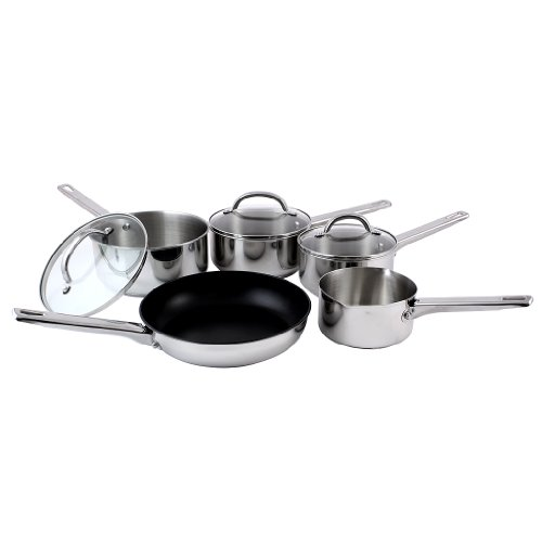 Prestige Stainless Steel 5-Piece Cookware Set