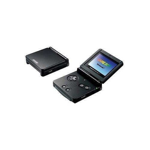 Nintendo Game Boy Advance SP - Onyx (Games For Gameboy Advance Sp compare prices)