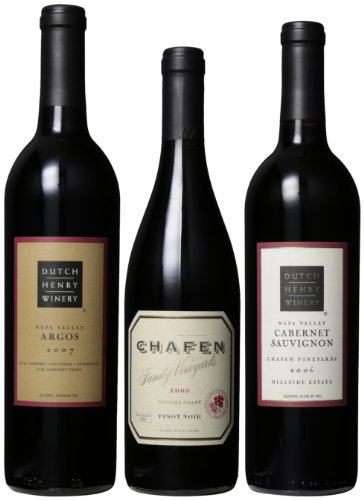 Dutch Henry Winery  Robust Reds Mixed Pack, 3 x 750 mL