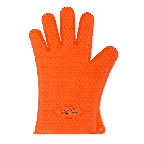 Lowest Price! #1 Silicone BBQ Glove Set - 100% Risk Free Lifetime Guarantee! SizzleGrips - The Origi...