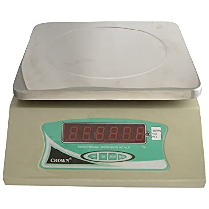 Crown-Electronic-Big-Led-Table-Top-Weighing-Scale