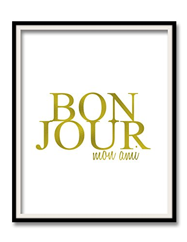 bonjour-mon-ami-print-gold-foil-art-nursery-wall-print