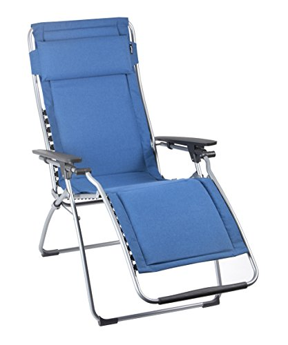 Lafuma-LFM3061-7714-Relax-Liegestuhl-klappbar-und-verstellbar-Futura-blau