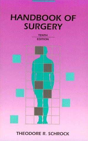 Handbook Of Surgery, 10e