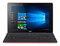 Acer Aspire SW3-016 10.1-inch Laptop (Atom x5-Z8300/2GB/32GB/Windows 10/Integrated Graphics), Red