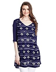 Roxy Women's Tunic Top (ERJWD03053-BTC6_Blue_Medium)