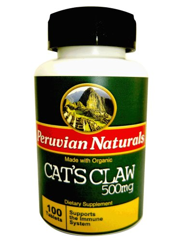 Organic Cat's Claw 500mg - 100 Tablets (Uña de Gato)