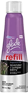 glade Expressions Fragrance Mist Refill, Lavender and Juniper Berry, 7 Ounce (Pack of 6)