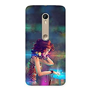 DJ Girl Play Back Case Cover for Motorola Moto X Style