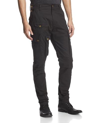 PRPS Men's Cargo Pant with Grommet Details