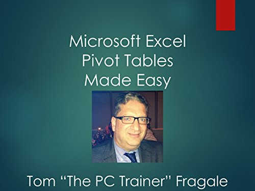 Microsoft Excel Pivot Tables Made Easy