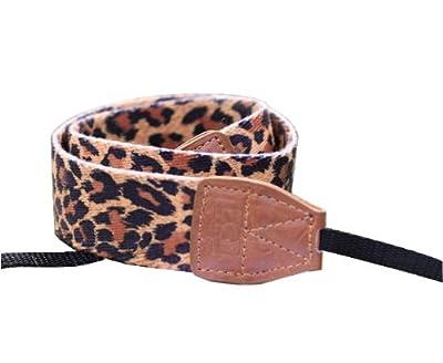 niceeshop(TM) Multi-color Leopard Pattern Camera Shoulder Straps Neck Straps Belt for Digital SLR Camera