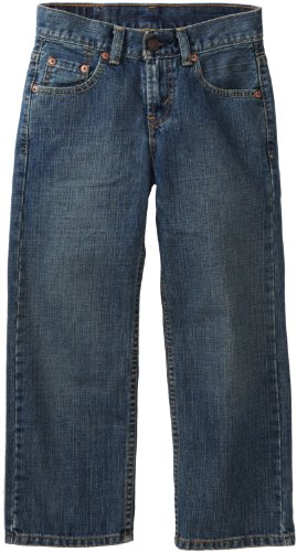 Levi'S Big Boys' 550 Relaxed Fit Jean , Clean Crosshatch, 10 Regular front-423381