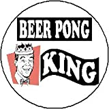 BEER PONG KING 1.25″ Magnet