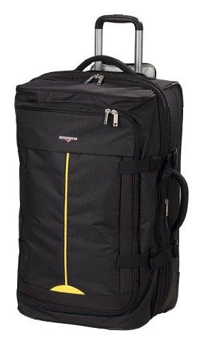Hardware Lightweight II Doppeldecker Rollenreisetasche 78 cm schwarz/gleb