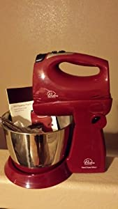 Wolfgang Puck Hand/Stand Mixer w/Accessories BHSM0020