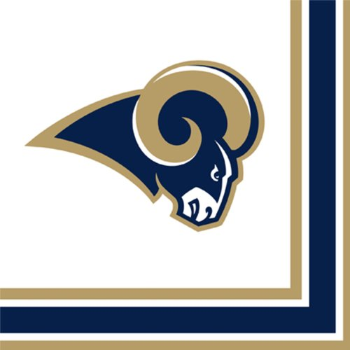St Louis Rams Luncheon Napkins - 1