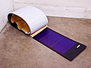 Unisolar 128 Watt Flexible Solar Panel PV Laminate - Simple & Easy Installation - Peel & Stick