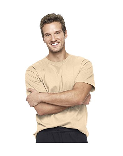 Hanes Beefy-T Adult Short-Sleeve T-Shirt, Pebble, Size - 2Xl