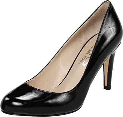 KORS Michael Kors Women's Ghita Pump,Black Patent,9.5 M US