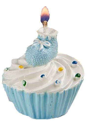 Cogy Baby's Cupcake Candle (Blue) - 1