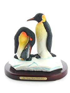 The Gray Rock Collection Penguins and Baby Sculpture Figurine