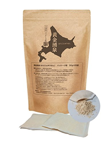 黄金湧泉【パッケージ版】二股岩盤粉末の主成分入浴剤