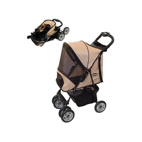 Amazon.com : Jeep Wrangler Dog Stroller (Sandstone) : Pet Supplies