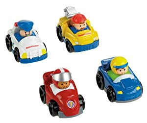 Fisher-Price Little People Wheelies All About Racing