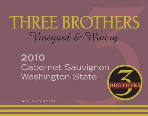 2010 Three Brothers Vineyard & Winery Rattlesnake Hills Cabernet Sauvignon 750 Ml