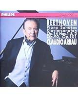 Beethoven-Sonates pour Piano N 27-N 28-N 9-N 10-Cl.Arrau-