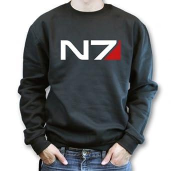 N 7 Logo Name Mass Effect N7 Logo Sweater