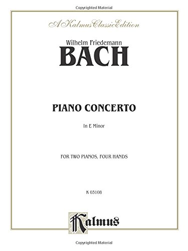 Piano Concerto in E Minor (Kalmus Edition)