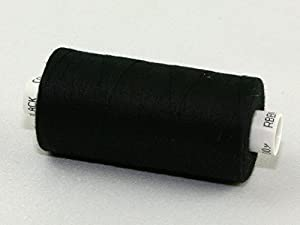1000y Moon Value Polyester Sewing Thread Colour: Black by Coats from Coats