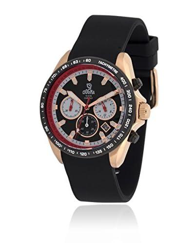 Dogma Reloj con movimiento cuarzo suizo Dgcrono-345R Negro 45  mm
