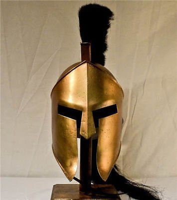 Cheapest Prices! theGrowStore - King Spartan 300 Movie Helmet + Liner & Stand For Re-Enactment,Larp,...
