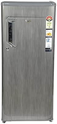 Whirlpool 215 Imfresh PRM 5S 10Y Direct-cool Single-door Refrigerator (200 Ltrs, 5 Star Rating, Grey)