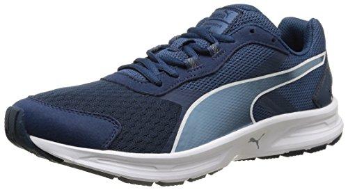 PUMA Descendant v3 - Zapatillas de running para hombre, Azul - Blau (blue wing teal-blue heaven-white 10), 42