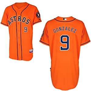 Marwin Gonzalez Houston Astros Alternate Orange Authentic Cool Base Jersey by... by Majestic