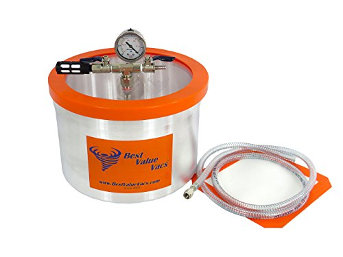 2 Gallon Vacuum Chamber to Degass Urethanes, Silicones and Epoxies (2 Gallon Vac compare prices)