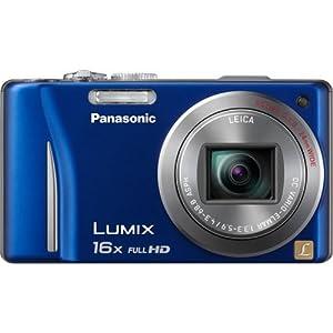 Panasonic Lumix ZS10 Blue 16x Zoom