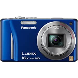 Panasonic Lumix ZS10 Blue 16x Zoom