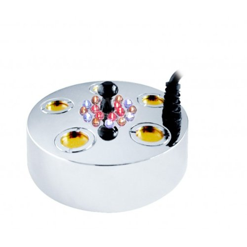 Super Pond Fogger w/LED Lights & Floating Ring MM105L