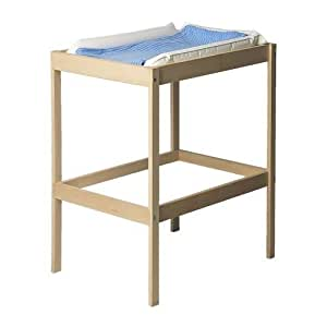 Ikea Sniglar Changing Table and White Changing Pad