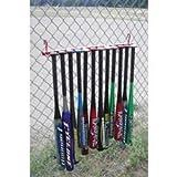 Baseball And Softball Baseball Storage Equipment Bat Racks - 12 Bat Fence Rack