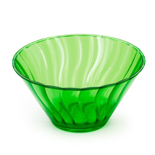 Lemon Lime Plastic 6in Small Bowl