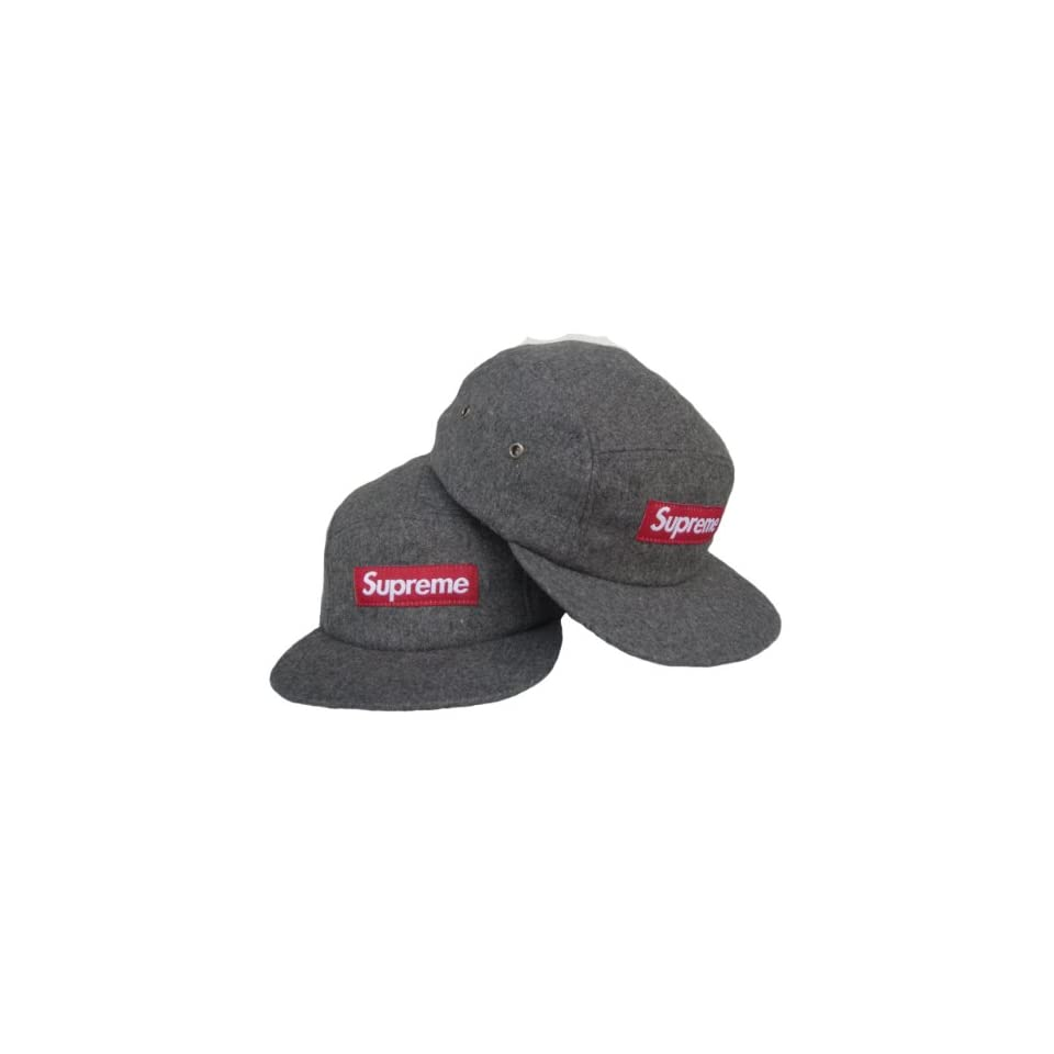 5922b0081a0 Supreme Snapback Hat Cap Black Red S18 on PopScreen