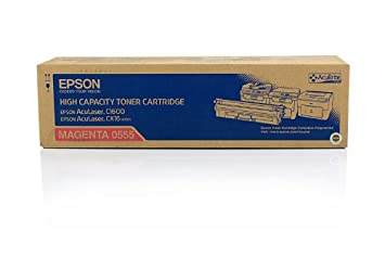 Epson Aculaser CX 16 DTNF - Original Epson C13S050555 - Cartouche de Toner Magenta - 2700 pages
