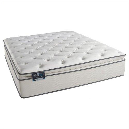 Simmons Beautysleep Kalama Plush Pillow Top Mattress - Full front-1048957