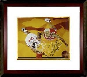 Dennis Rodman Autographed Hand Signed Chicago Bulls 16x20 Photo Custom Framed by Hall of Fame Memorabilia